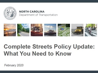 NC Complete Streets