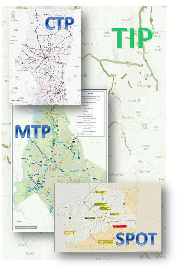 Transportation Plans Compilation Map