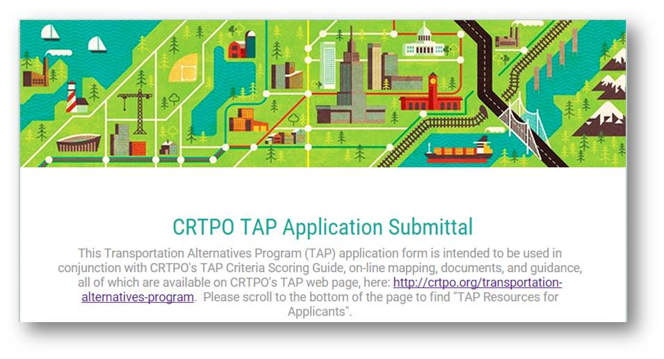 TAP Application Submittal